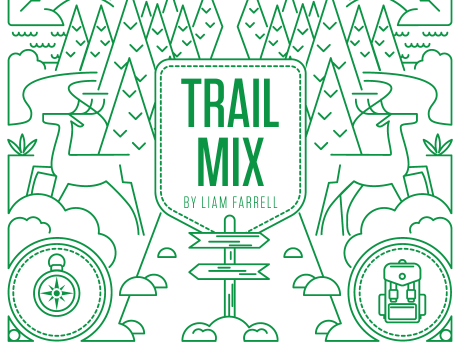 Trail Mix Editorial Illustration