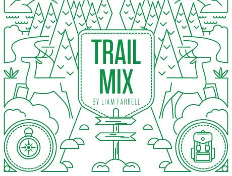 Trail Mix Editorial Illustration